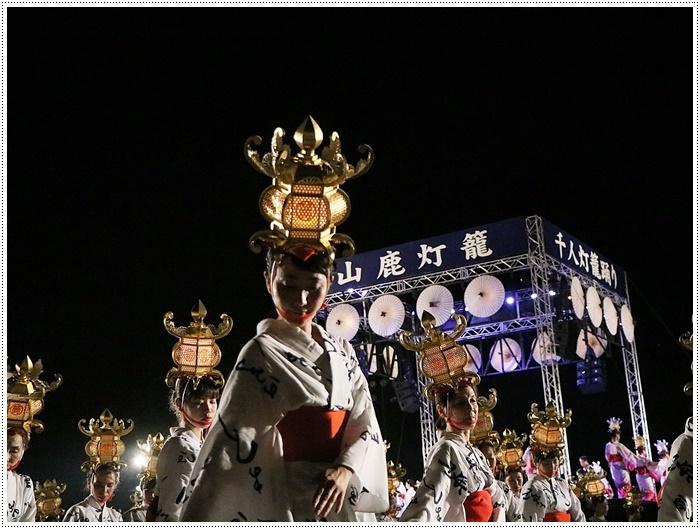 山鹿灯籠まつりの千人燈籠踊り、出かけて良かった、見られてよかった\(>∀<)/_b0175688_21534283.jpg