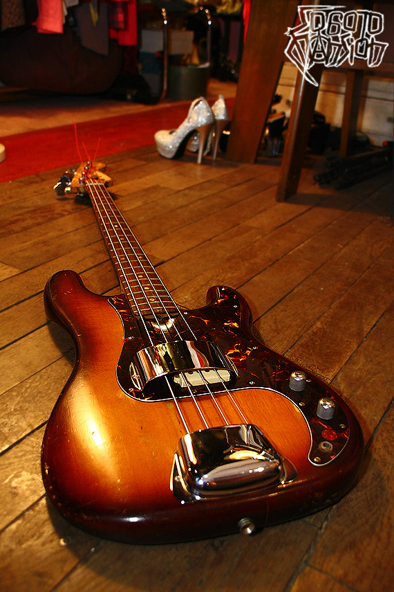 1980s Vintage Fender USA Precision Bass Frankenstein フランケンベース_e0243096_17435778.jpg