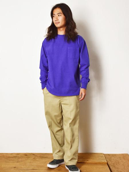 【DELIVERY】 STANDARD CALIFORNIA - Heavyweight Pocket Long Sleeve T_a0076701_16012629.jpg