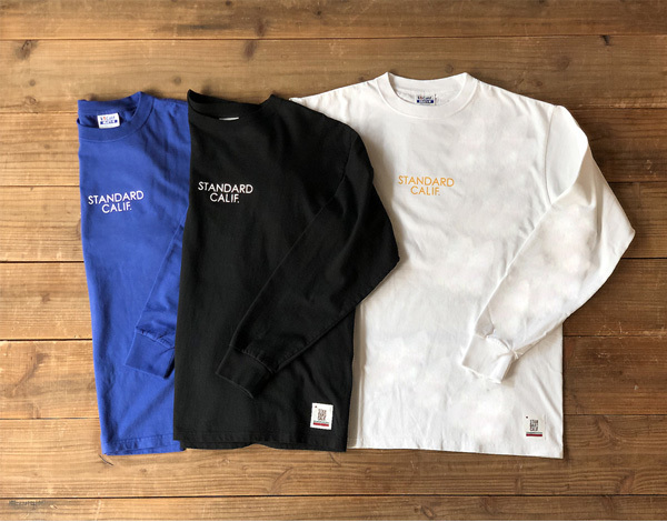 【DELIVERY】 STANDARD CALIFORNIA - Heavyweight  Long Sleeve T with Logo_a0076701_16040419.jpg