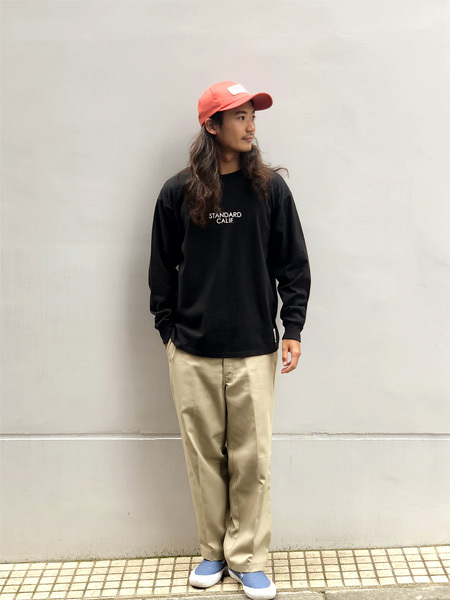 【DELIVERY】 STANDARD CALIFORNIA - Heavyweight  Long Sleeve T with Logo_a0076701_16070672.jpg