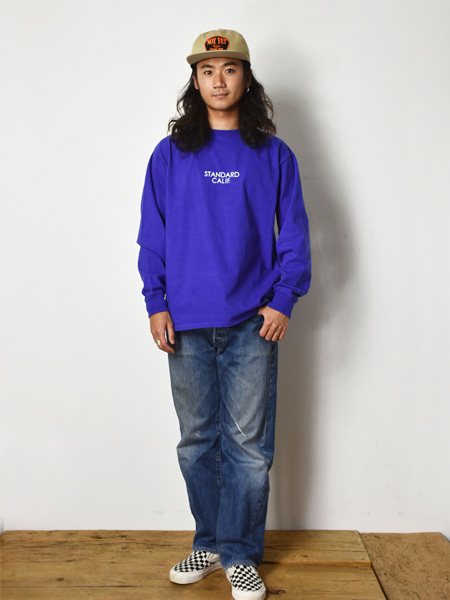 【DELIVERY】 STANDARD CALIFORNIA - Heavyweight  Long Sleeve T with Logo_a0076701_16071703.jpg