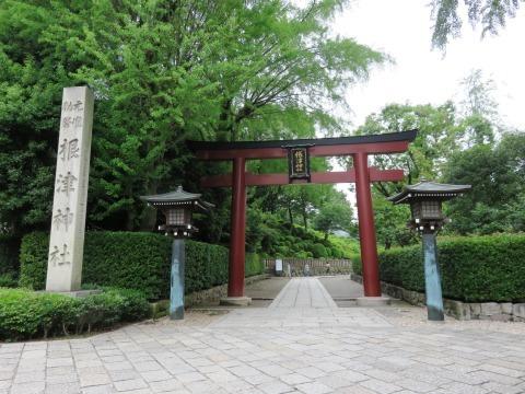 根津神社(新江戸百景めぐり㉕)_c0187004_19591113.jpg