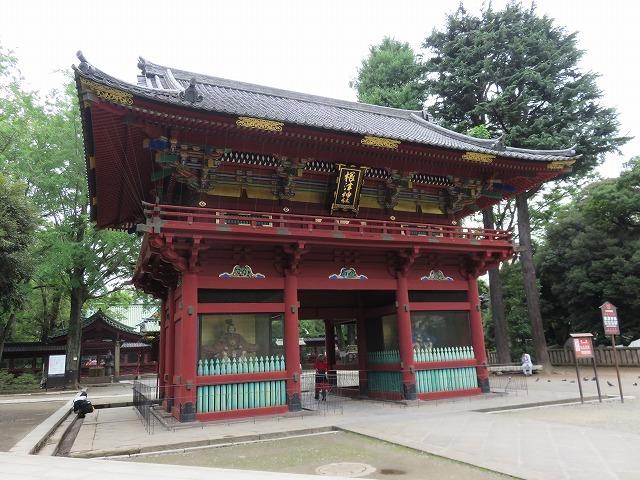 根津神社(新江戸百景めぐり㉕)_c0187004_20011203.jpg