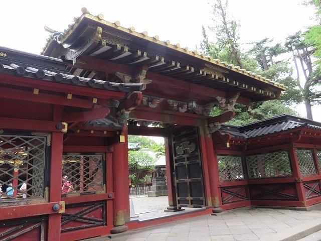 根津神社(新江戸百景めぐり㉕)_c0187004_20045301.jpg