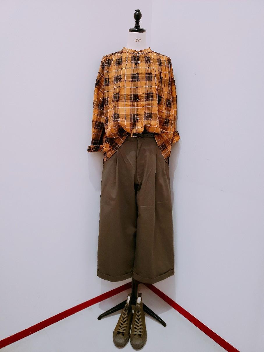 【伊勢丹立川店】new arrival~check shirt~_b0397010_17341282.jpg