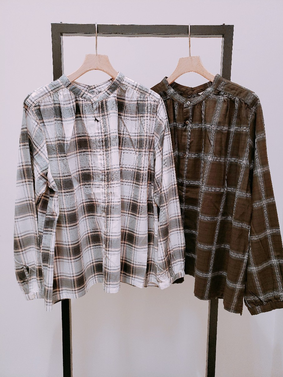 【伊勢丹立川店】new arrival~check shirt~_b0397010_17341289.jpg