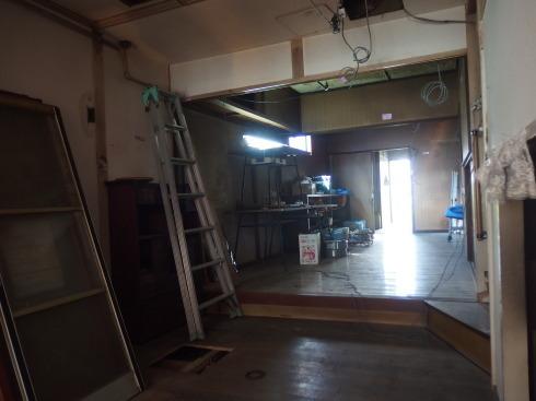 なんだり館様 移転工事はじまりました_f0105112_16111959.jpg