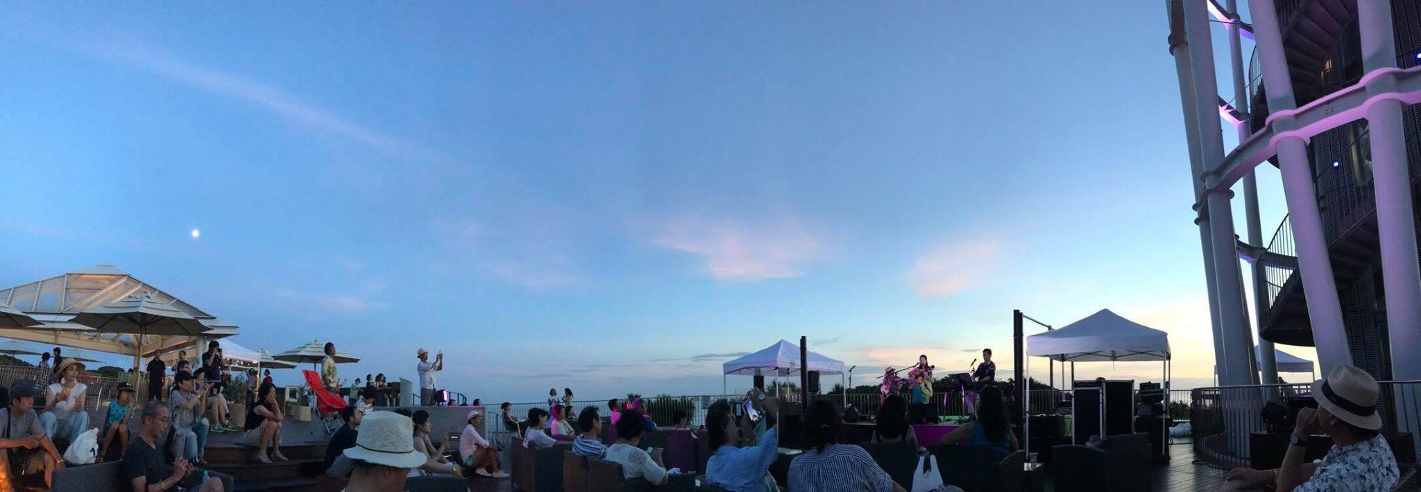 【レポート◉夕陽と海の音楽会】5年目。3日目をプロデュース、LIVE演奏、DJ #ブラジル #江ノ島 #シーキャンドル_b0032617_23470014.jpg