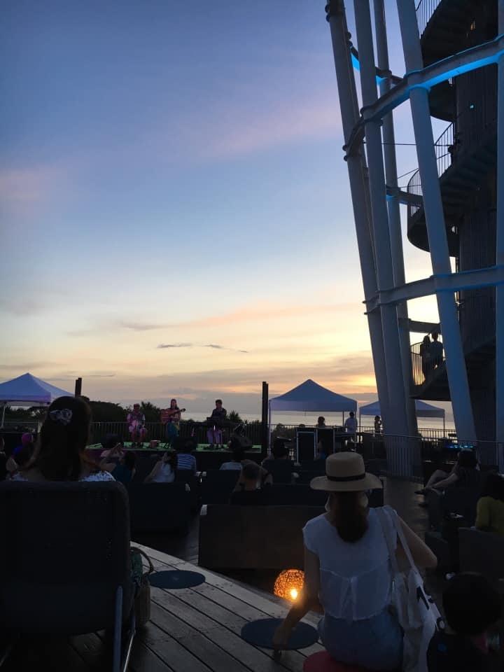 【レポート◉夕陽と海の音楽会】5年目。3日目をプロデュース、LIVE演奏、DJ #ブラジル #江ノ島 #シーキャンドル_b0032617_23515793.jpg
