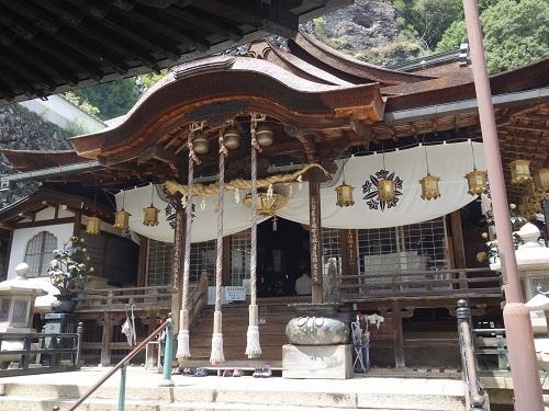 生駒の宝山寺の歓喜天にお参りして、清浄歓喜団をいただきました_c0030645_16532431.jpg