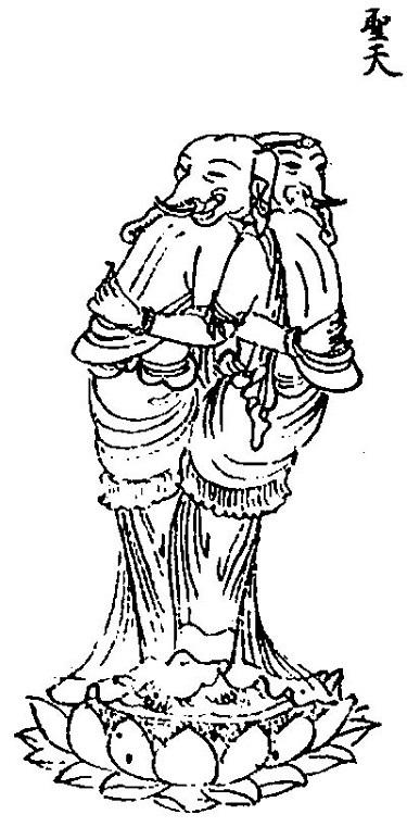生駒の宝山寺の歓喜天にお参りして、清浄歓喜団をいただきました_c0030645_16533694.jpg