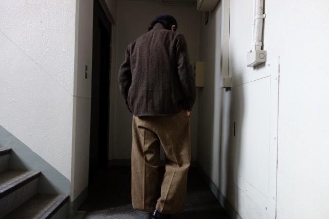 10月の製作 / classic shetlandwooltweed trousers_e0130546_13253035.jpg