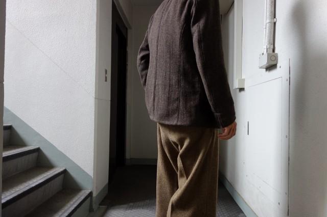 10月の製作 / classic shetlandwooltweed trousers_e0130546_13260338.jpg