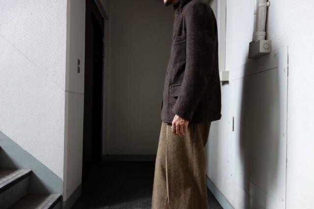 10月の製作 / classic shetlandwooltweed tailor jacket_e0130546_13272760.jpg