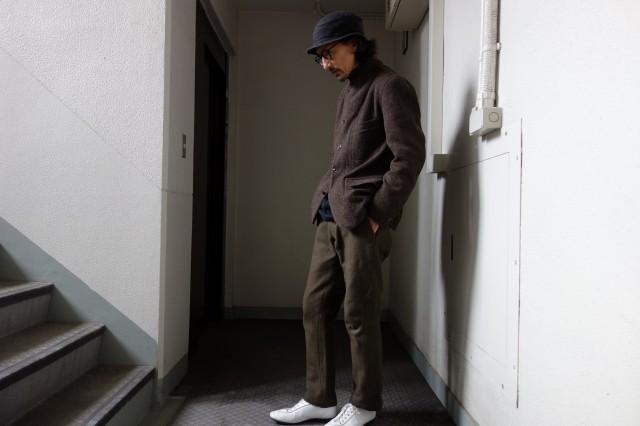 10月の製作 / classic shetlandwooltweed tailor jacket_e0130546_13314390.jpg