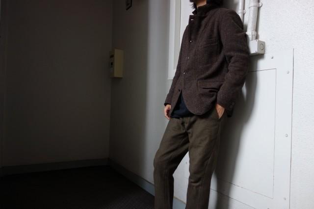 10月の製作 / classic shetlandwooltweed tailor jacket_e0130546_13321995.jpg