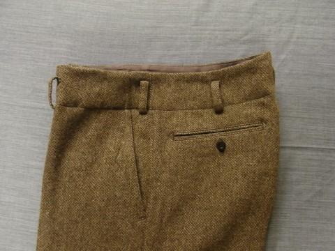 10月の製作 / classic shetlandwooltweed trousers_e0130546_13374804.jpg