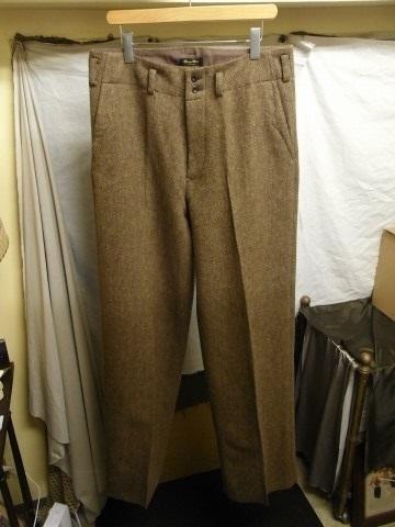 10月の製作 / classic shetlandwooltweed trousers_e0130546_13381286.jpg