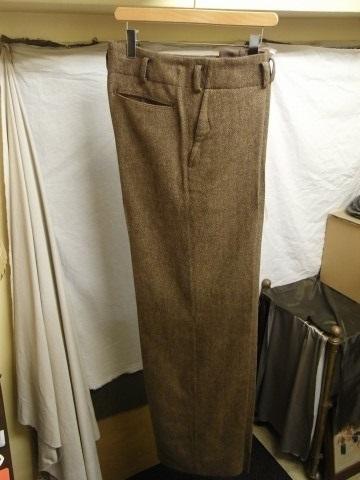 10月の製作 / classic shetlandwooltweed trousers_e0130546_13382888.jpg