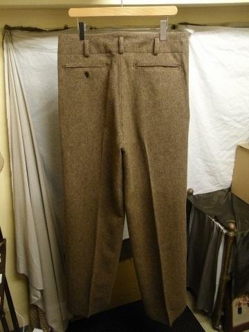 10月の製作 / classic shetlandwooltweed trousers_e0130546_13384786.jpg
