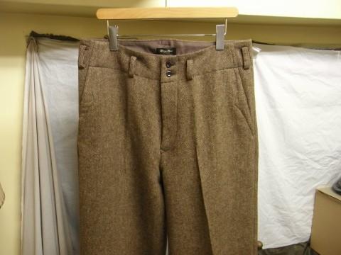 10月の製作 / classic shetlandwooltweed trousers_e0130546_13391944.jpg