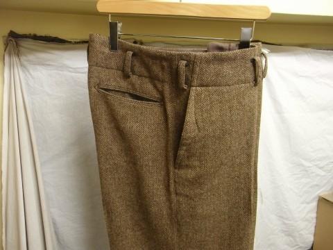 10月の製作 / classic shetlandwooltweed trousers_e0130546_13393664.jpg
