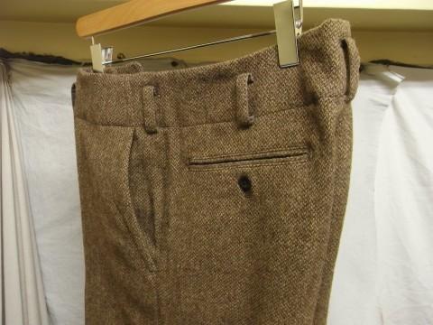 10月の製作 / classic shetlandwooltweed trousers_e0130546_13400691.jpg