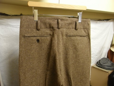 10月の製作 / classic shetlandwooltweed trousers_e0130546_13402137.jpg