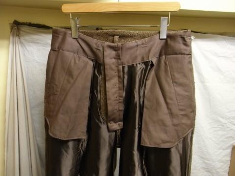 10月の製作 / classic shetlandwooltweed trousers_e0130546_13404002.jpg