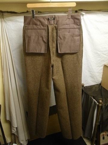 10月の製作 / classic shetlandwooltweed trousers_e0130546_13411400.jpg