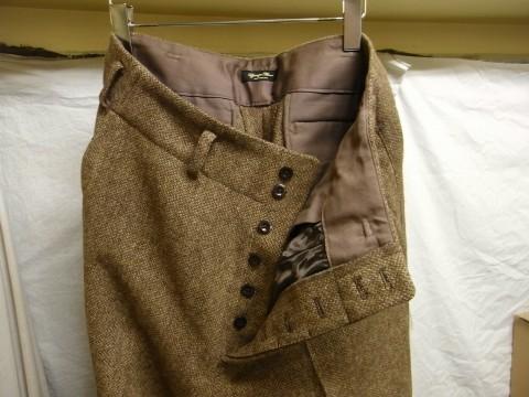 10月の製作 / classic shetlandwooltweed trousers_e0130546_13414649.jpg