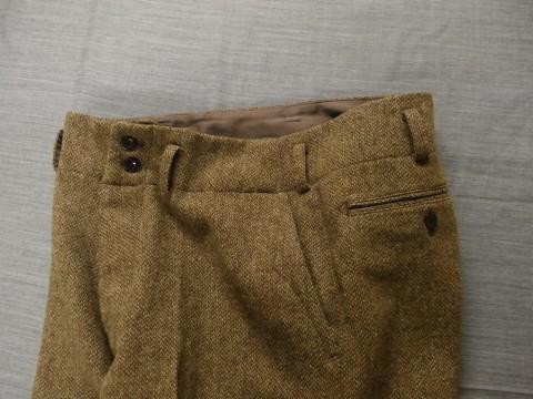 10月の製作 / classic shetlandwooltweed trousers_e0130546_13420843.jpg