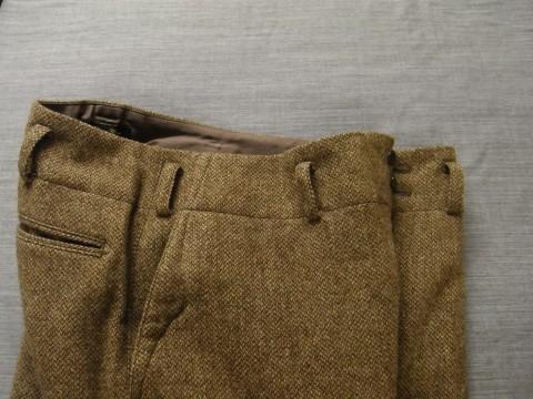 10月の製作 / classic shetlandwooltweed trousers_e0130546_13422371.jpg