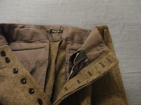 10月の製作 / classic shetlandwooltweed trousers_e0130546_13423875.jpg