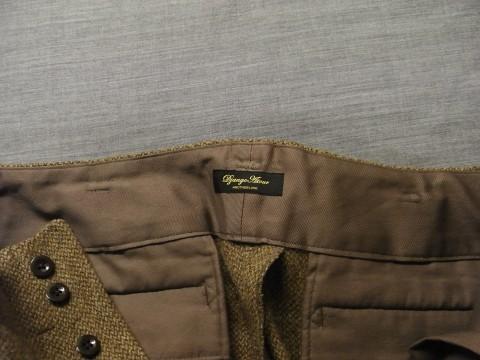 10月の製作 / classic shetlandwooltweed trousers_e0130546_13425920.jpg