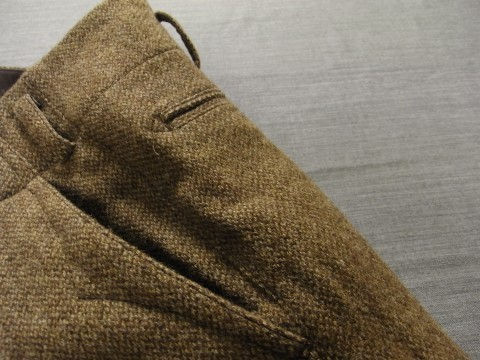 10月の製作 / classic shetlandwooltweed trousers_e0130546_13431318.jpg
