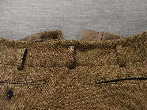 10月の製作 / classic shetlandwooltweed trousers_e0130546_13441014.jpg