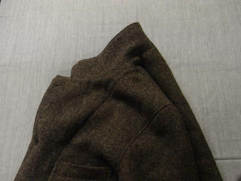 10月の製作 / classic shetlandwooltweed tailor jacket_e0130546_14355338.jpg