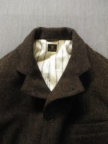 10月の製作 / classic shetlandwooltweed tailor jacket_e0130546_14363833.jpg