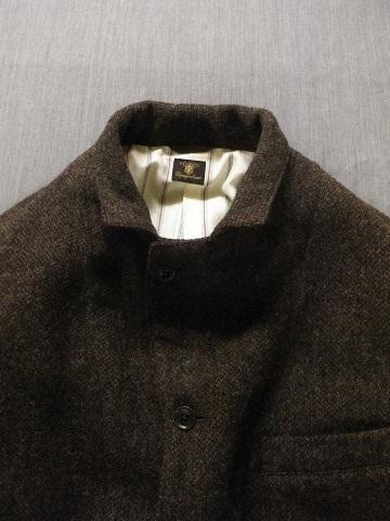 10月の製作 / classic shetlandwooltweed tailor jacket_e0130546_14365652.jpg