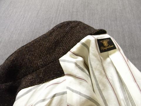 10月の製作 / classic shetlandwooltweed tailor jacket_e0130546_14373603.jpg