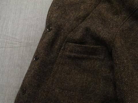 10月の製作 / classic shetlandwooltweed tailor jacket_e0130546_14380350.jpg