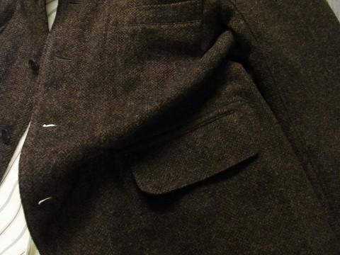 10月の製作 / classic shetlandwooltweed tailor jacket_e0130546_14382362.jpg