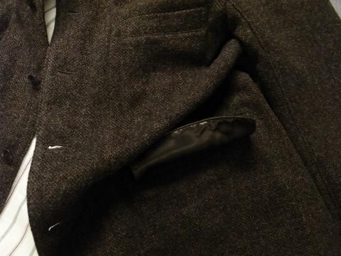 10月の製作 / classic shetlandwooltweed tailor jacket_e0130546_14383818.jpg