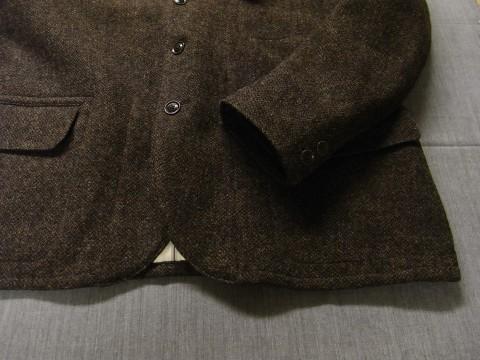 10月の製作 / classic shetlandwooltweed tailor jacket_e0130546_14392279.jpg