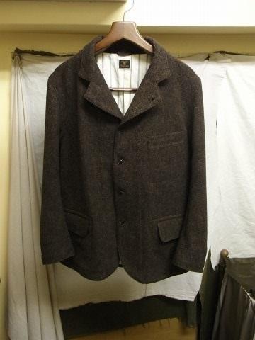 10月の製作 / classic shetlandwooltweed tailor jacket_e0130546_14403110.jpg