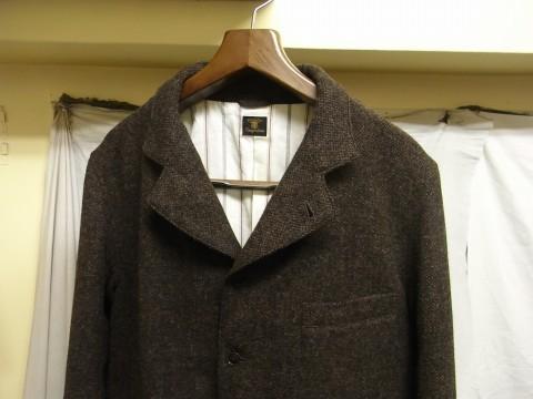 10月の製作 / classic shetlandwooltweed tailor jacket_e0130546_14405017.jpg