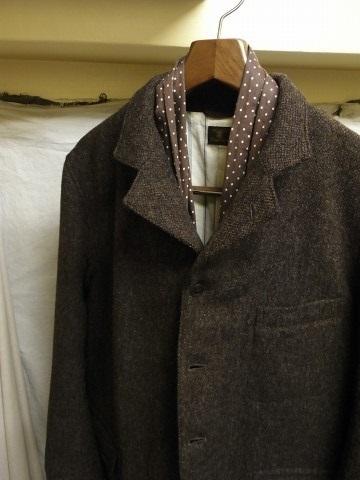 10月の製作 / classic shetlandwooltweed tailor jacket_e0130546_14410335.jpg