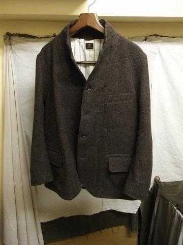 10月の製作 / classic shetlandwooltweed tailor jacket_e0130546_14414268.jpg